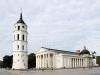 Kathedrale und Glockenturm in Vilnius