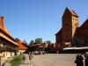 Im Burghof der Wasserburg Trakai