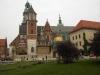 Der Wavel mit Kathedrale